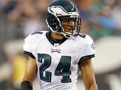 Cornerback Nnamdi Asomugha has never played on an NFL team that finished better than .500 (Yong Kim/Staff Photographer).
