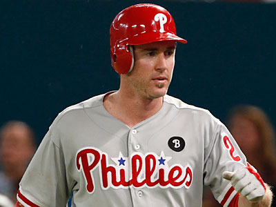 Chase Utley has been cleared to return to the lineup after suffering a concussion last week. (AP Photo)