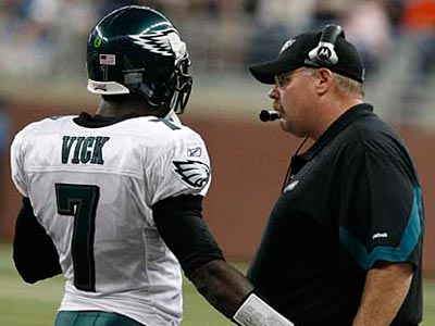 Will Andy Reid and Michael Vick get the Eagles to the Super Bowl this year? (Ron Cortes/Staff File Photo)