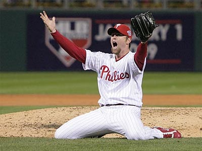 Brad Lidge and the Phillies won the 2008 World Series. (Jerry Lodriguss/Staff File Photo)