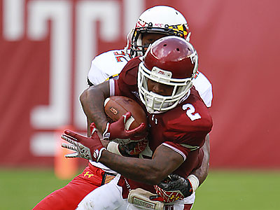 Temple fell behind 26-3 in the first half, which proved too big a hole for a comeback. (David Swanson/Staff Photographer)
