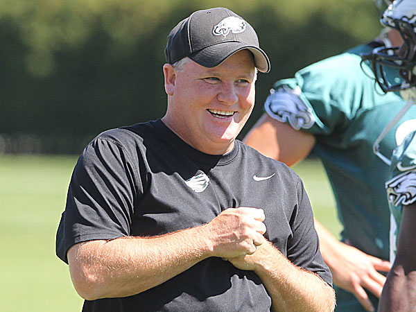 Eagles head coach Chip Kelly. (Charles Fox/Staff Photographer)