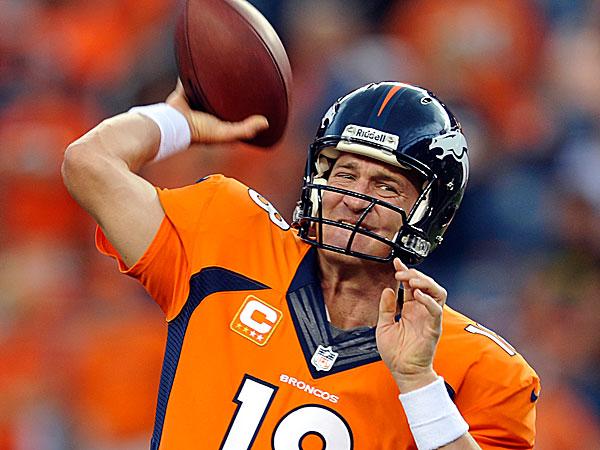 Broncos quarterback Peyton Manning. (Jack Dempsey/AP)