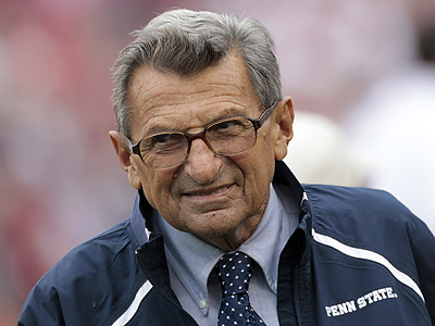 Joe Paterno has kept Penn State successful on the field and off it. (Dave Martin/AP file photo)