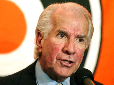 Flyers owner Ed Snider wouldn´t comment on negotiations between the union and the league. (George Widman/AP file photo)