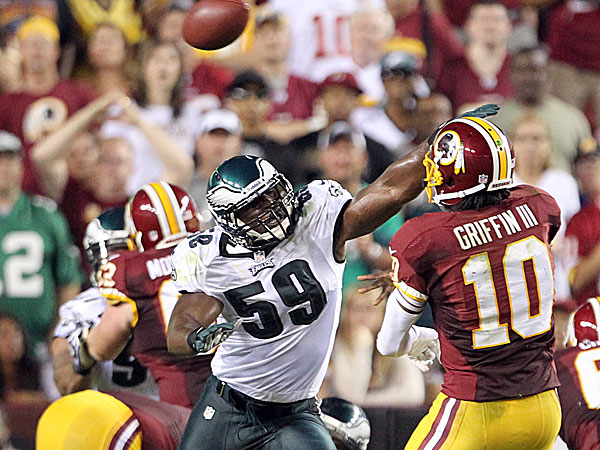 Eagles linebacker DeMeco Ryans. (Yong Kim/Staff Photographer)