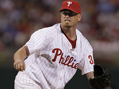 Brett Myers gets the start for the Phillies today in the series finale against the Marlins. (Ron Cortes/Inquirer)