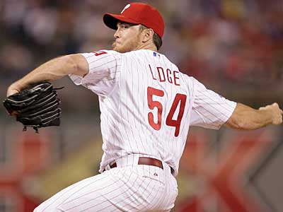 """It's real simple. Just get me work to get me where I need to be, and that's about it,"" Brad Lidge says. (Yong Kim/Staff file photo)"
