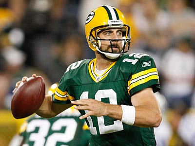 Aaron Rodgers and the Packers will play the Eagles at Lincoln Financial Field on Sunday. (AP Photo/Mike Roemer)