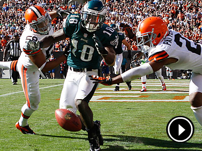 Jeremy Maclin injured his hip in Sunday´s season-opening win against the Browns. (Ron Cortes/Staff Photographer)