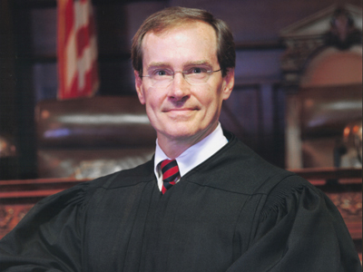 Commonwealth Court Judge Robert Simpson.