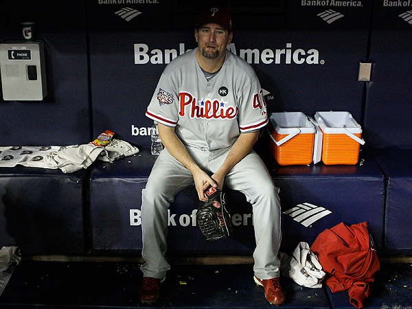 Former Phillies pitcher Scott Eyre. (AP file photo)
