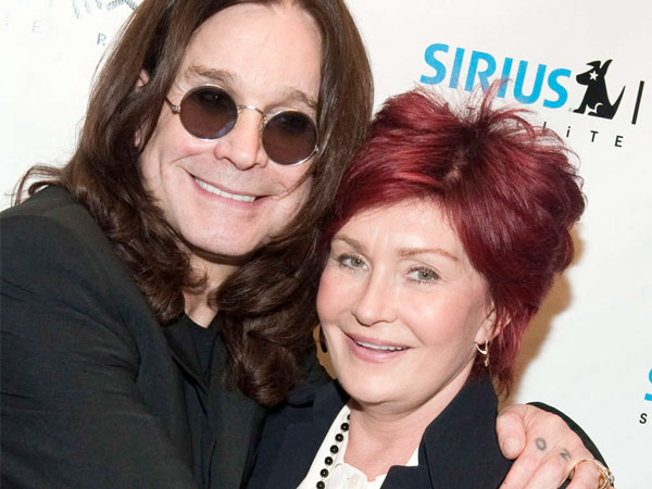 Ozzy and Sharon Osbourne. (AP Photo / Charles Sykes)