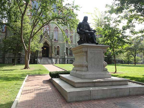 The University of Pennsylvania campus ( MICHAEL BRYANT / Staff Photographer )