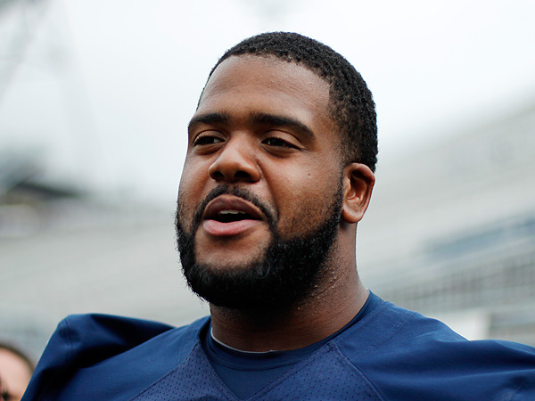 Penn State offensive tackle Donovan Smith. (Gene J. Puskar/AP file photo)