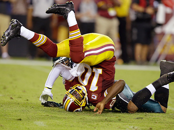 Washington quarterback Robert Griffin III. (Alex Brandon/AP)