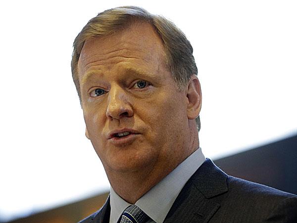 NFL Commissioner Roger Goodell. (Seth Wenig/AP)
