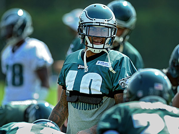 Eagles wide receiver DeSean Jackson. (Clem Murray/Staff Photographer)
