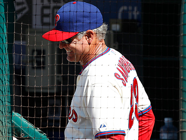 Phillies interim manager Ryne Sandberg. (David Maialetti/Staff Photographer)
