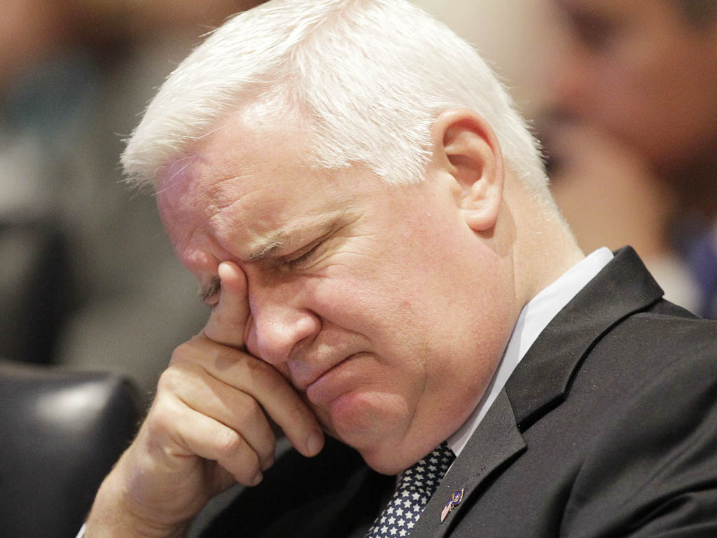 "Gov. Corbett compared same-sex marriage to the union of a brother and sister. In an apology later Friday, he said: ""I have always been a lawyer, and I think with my legal head all the time."""