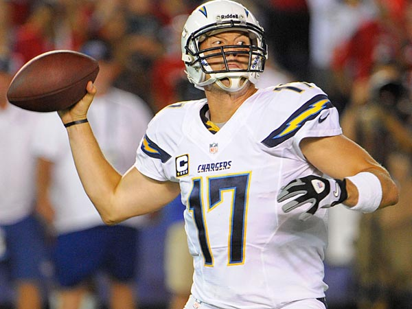 San Diego Chargers quarterback Philip Rivers. (AP Photo/Denis Poro)