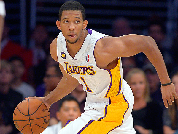 The 76ers have reportedly signed former Lakers guard Darius Morris. (Mark J. Terrill/AP file photo)
