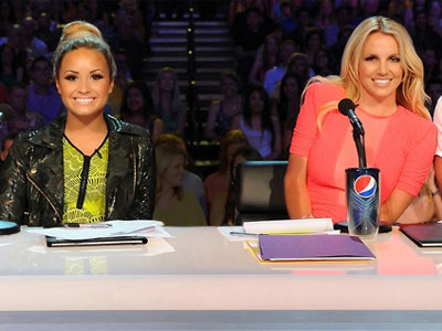 "Demi Lovato and Britney Spears are both judges on FOX´s ""X Factor."" Spears is leaving the show."