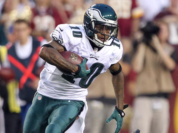 Eagles wide receiver DeSean Jackson. (Yong Kim/Staff Photographer)