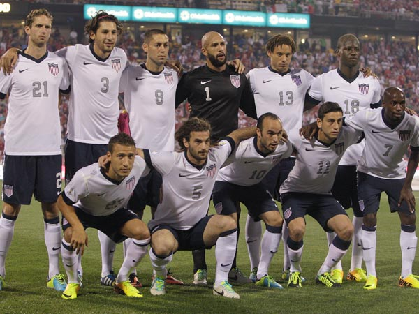 The United States soccer team. (Jay LaPrete/AP)