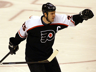 Keith Primeau was the 13th captain in Flyers history. (Yong Kim/Staff file photo)
