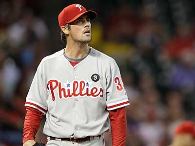 Cole Hamels will pitch the first game of Saturday´s doubleheader against the Mets. (David J. Phillip/AP)
