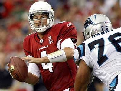 Kevin Kolb says he hopes the Eagles win the Super Bowl this season -- if his Cardinals don´t. (AP Photo/Ralph Freso)