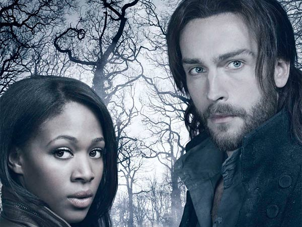 "British actor Tom Mison plays Ichabod Crane and Nicole Beharie plays a police ""leftenant,"" in ""Sleepy Hollow."" Glamour magazine has already anointed him ""your new fall crush."""