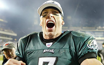 Jeff Garcia played eight games for the Eagles in 2006. (Steven M. Falk/Staff file photo)