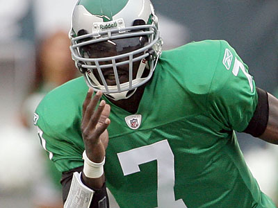Michael Vick will make his first start for the Eagles this Sunday against the Lions. (Yong Kim/Staff Photographer)