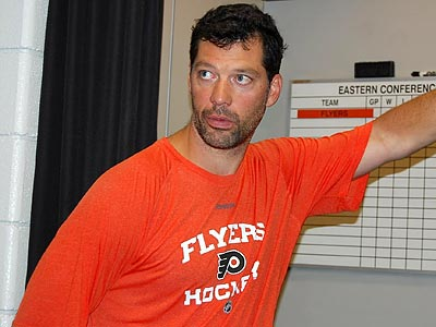 Bill Guerin will attend Flyers training camp on a tryout contract. (Photo courtesy of the Flyers)