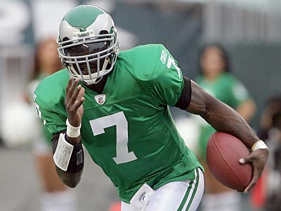 Michael Vick likely will be the starting quarterback for Sunday´s game against Detroit. (Yong Kim/Staff Photographer)