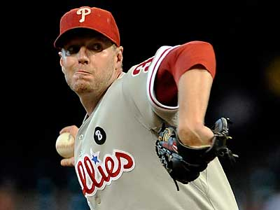 Roy Halladay starts tonight against the Cardinals. (Pat Sullivan/AP)