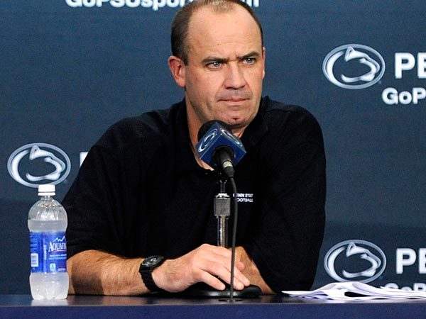 Penn State football head coach Bill O´Brien. (AP Photo/Centre Daily Times, Nabil K. Mark)