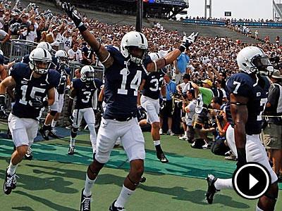 Penn State has yet to win a game through their first two games of the season. (Gene J. Puskar/AP photo)