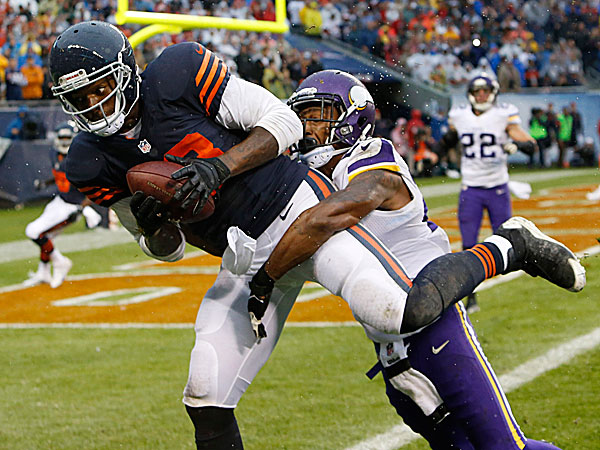 Bears tight end Martellus Bennett. (Charles Rex Arbogast/AP)