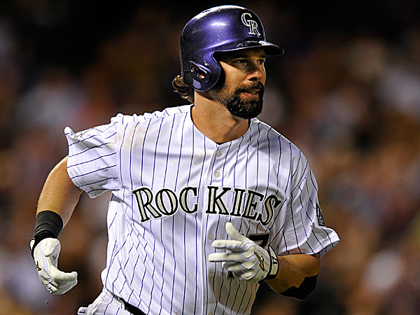 The Rockies´ Todd Helton. (Jack Dempsey/AP)