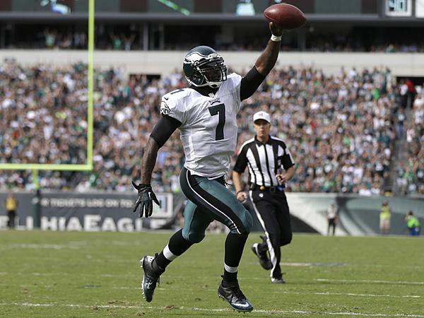 Philadelphia Eagles quarterback Michael Vick. (Matt Rourke/AP)