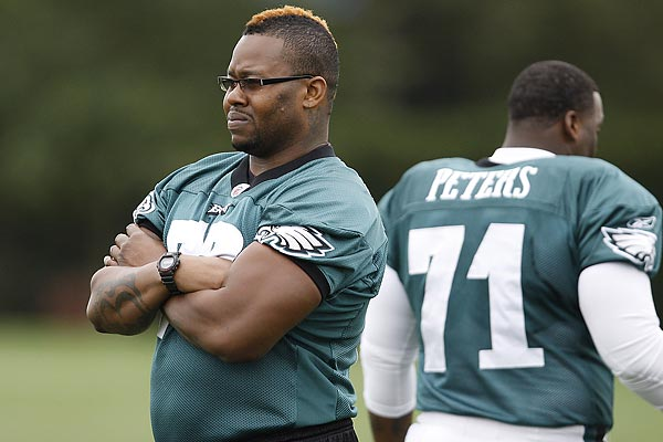 Former Eagles lineman Shawn Andrews. (David Maialetti/Staff Photographer)