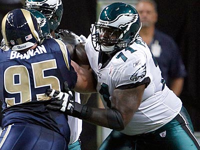Eagles offensive lineman Jason Peters will start against the Falcons. (Yong Kim/Staff Photographer)