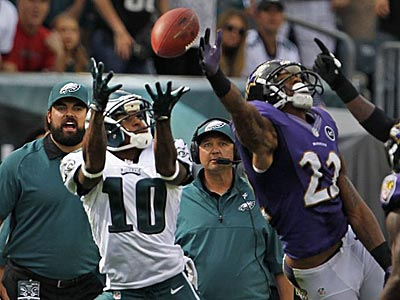 DeSean Jackson and the Eagles are three-point favorites in Arizona. (Ron Cortes/Staff Photographer)