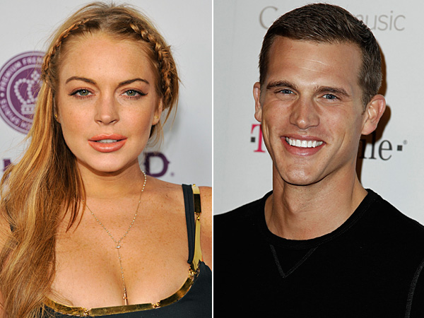 Lindsay Lohan and Matt Nordgren. (Chris Pizzello/Invision/AP and Matt Sayles/AP)