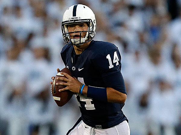 Penn State quarterback Christian Hackenberg. (Gene J. Puskar/AP)