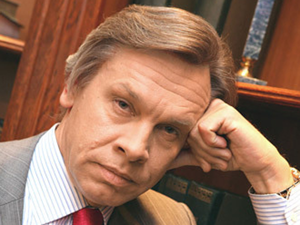 Alexey Pushkov, who heads the foriegn relations committee of Russia´s lower house of Parliament known as State Doma. (Via Twitter)