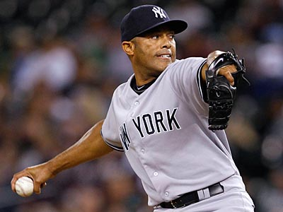 Yankees closer Mariano Rivera notched his record-tying 601st save of his career Saturday. (Elaine Thompson/AP)